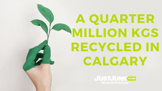 JUSTJUNK® Calgary Recycled A Quarter-Million kgs of Junk Featured Image